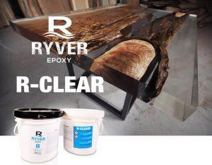 Époxy pour moulage (table rivière)